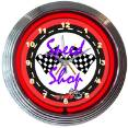 8SPEED - Speed Shop Neon Clock